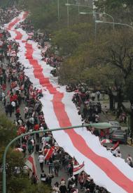 River Plate: a maior faixa do mundo