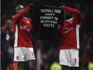 Arsenal pede ajuda para o Haiti (Eddie Keogh / Reuters)