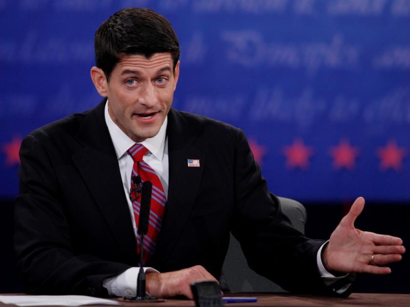 Debate entre Joe Biden e Paul Ryan (Reuters)