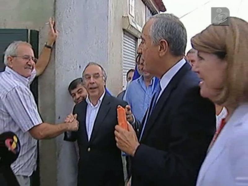Berta Cabral, Marcelo Rebelo de Sousa e Marques Mendes