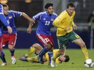 Liechtenstein vs Lituânia (Foto: EPA)