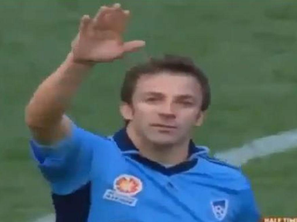 Del Piero no Sidney FC