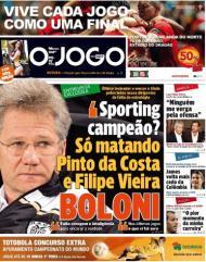 O Jogo: «Sporting campeão? Só matando Pinto da Costa e Filipe Vieira»