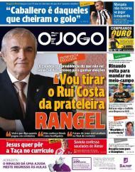 O Jogo: Rangel quer tirar Rui Costa da prateleira