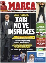 Marca: Xavi não vê disfarces