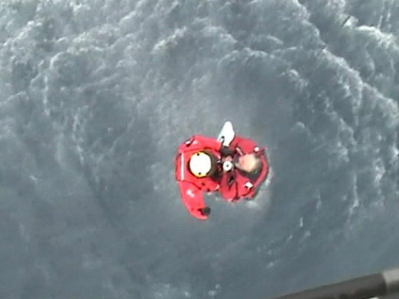 Resgate de velejador britânico (Força Aérea)