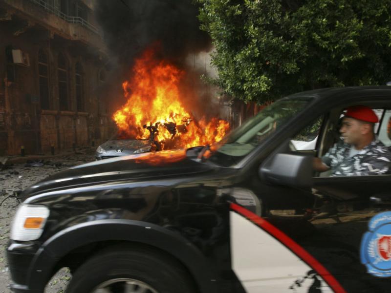 Atentado em Beirute (Reuters)