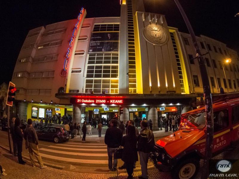 Keane no Coliseu do Porto (foto: Rui M. Leal)