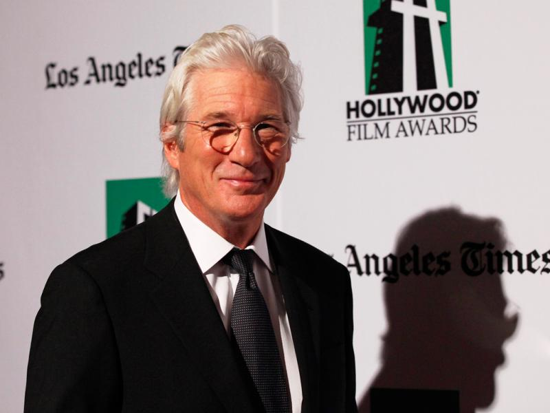 Richard Gere na gala dos Hollywood Film Awards 2012 (Reuters)