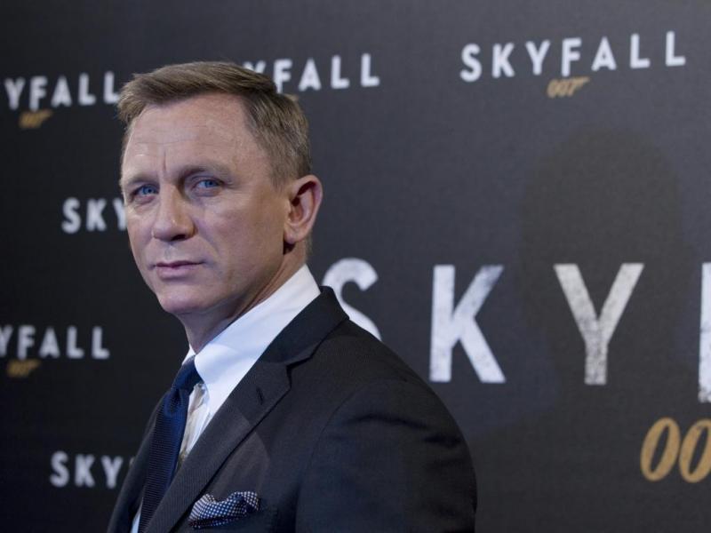 Daniel Craig na antestreia de «Skyfall» em Paris (Reuters)