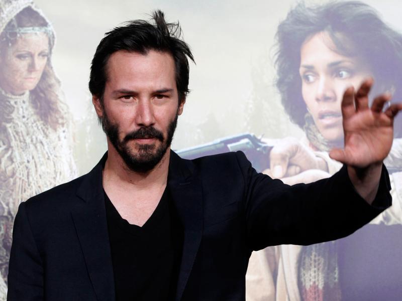 Keanu Reeves na antestreia de «Cloud Atlas» em Hollywood (Reuters)