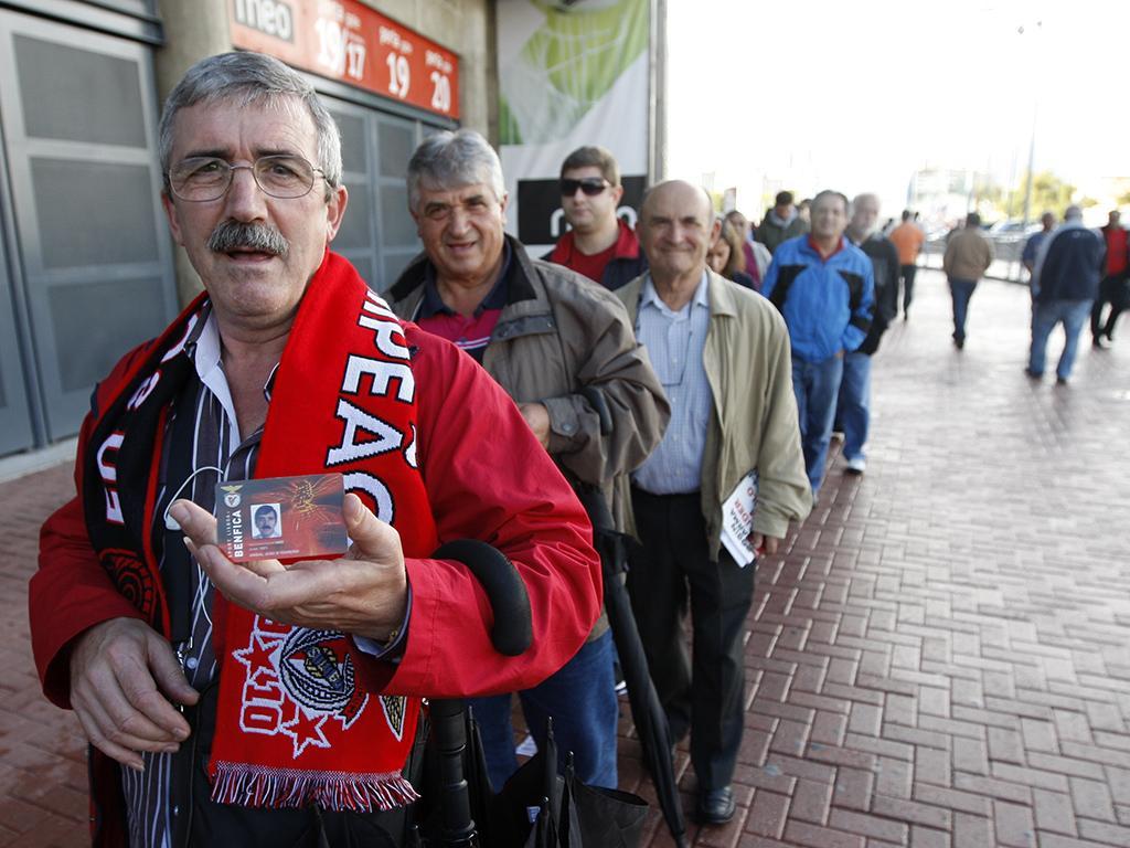 Eleições no Sport Lisboa e Benfica (LUSA)