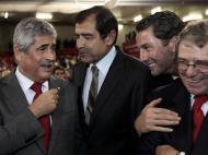 Luís Filipe Vieira reeleito (LUSA/António Cotrim)