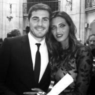Iker Casillas e Sara Carbonero nos Prémios Príncipe das Astúrias Foto: Facebook