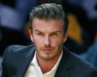 David Beckham - Famosos assistem ao jogo dos Los Angeles Lakers vs Dallas Mavericks Fotos: Reuters