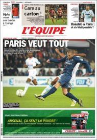 LÉquipe: Paris quer tudo