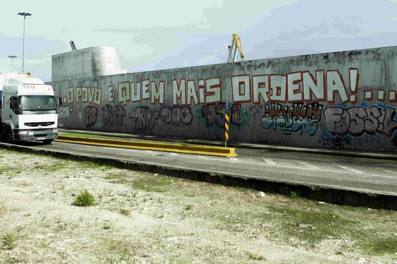Mural em Lisboa (José Sena Goulão/Lusa)