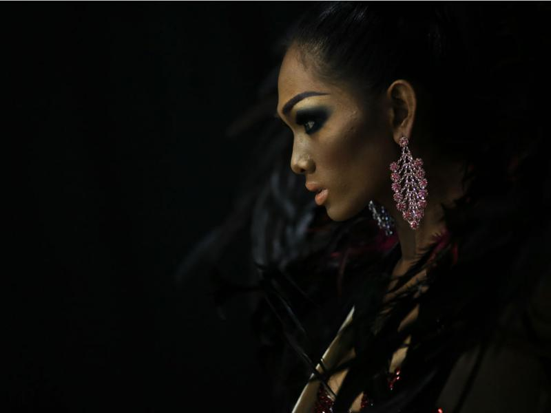 Concurso de beleza transexual (Reuters)