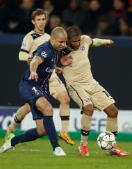 Paris Saint-Germain vs Dinamo Zagreb (REUTERS)