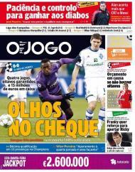 O Jogo: Porto de olhos no cheque e Benfica com orçamento em causa