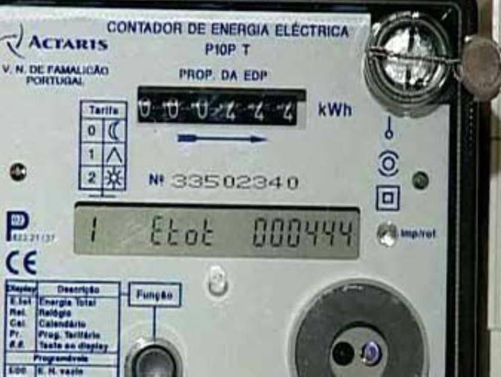 Contadores eletricidade