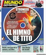 El Mundo Deportivo: «Stronger», o hino de Tito