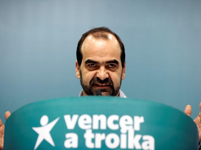 Daniel Oliveira na Convenção do BE (LUSA)