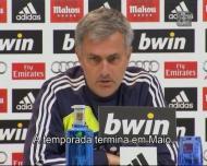 Mourinho e as contas da Liga: «Falamos em maio»