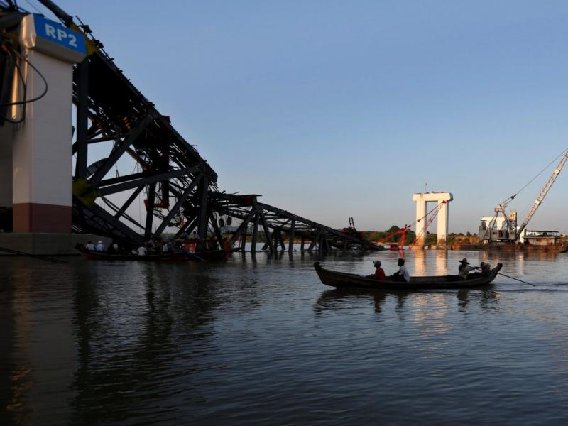 Sismo na Birmânia faz 13 mortos (EPA)
