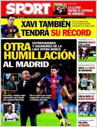 Sport: Prémios da Liga, outra humilhação ao Madrid
