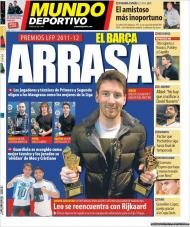 El Mundo Deportivo: Barça arrasa nos prémios da Liga