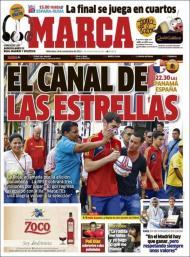 Marca: a Roja no Panamá, canal de estrelas