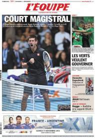 LÉquipe: outra oportunidade para a França