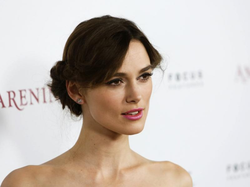 Keira Knightley na antestreia de «Anna Karenina» em Hollywood (Reuters)