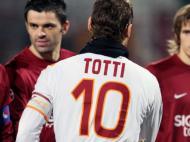 Dani frente a Totti