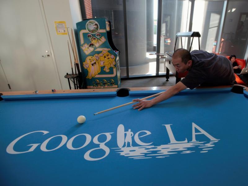 Escritório da Google em Los Angeles (Reuters)