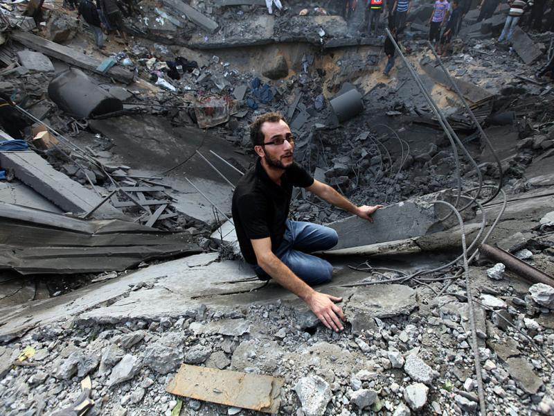 Conflito na Faixa de Gaza (Lusa)