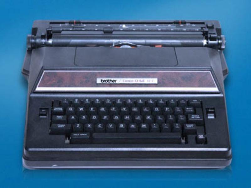 Máquina de escrever Manufacturer Brother (site oficial)