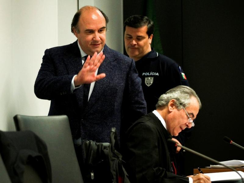 Julgamento de Vale e Azevedo (MARIO CRUZ/LUSA)