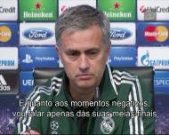 Mourinho e as memórias de 100 jogos na Champions