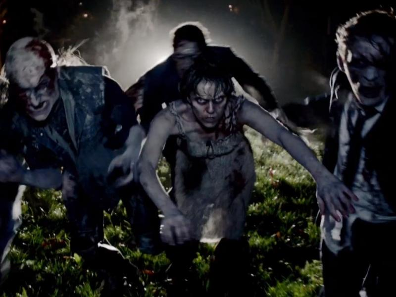 Zombies no novo vídeo dos Rolling Stones, «Doom and Gloom»