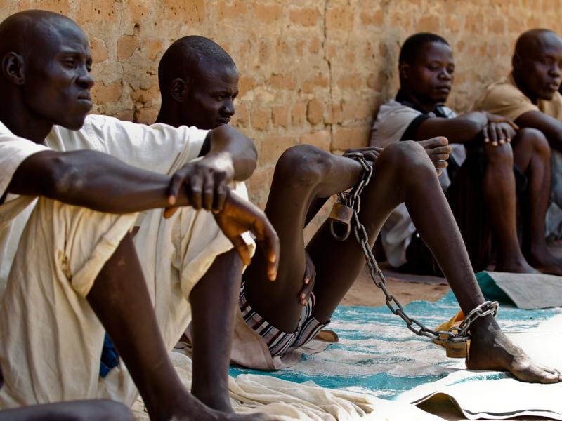 Sudão do Sul: Reclusos apresentam sinais de malnutrição na prisão de Rumbek (EPA/DAI KUROKAWA)