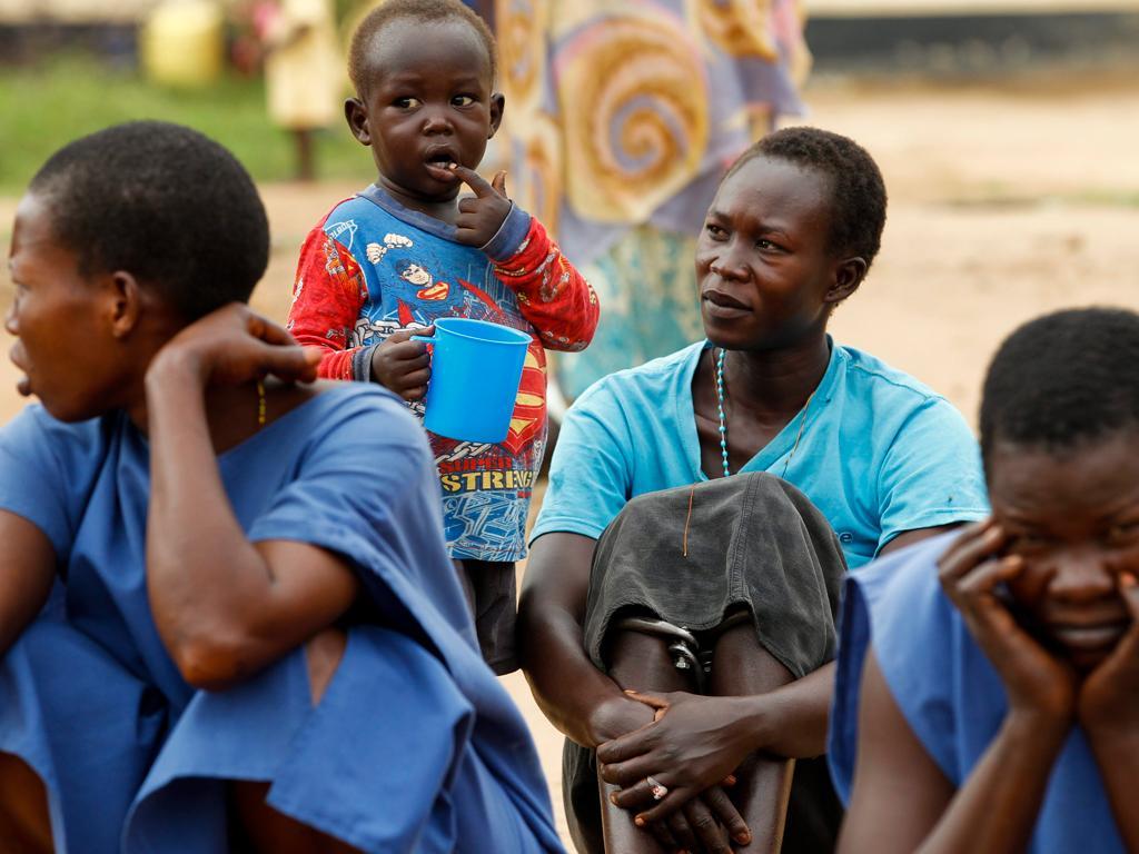 Sudão do Sul: Joyce Gila, 25 anos, condenada à forca por homicídio não teve direito a julgamento. Está detida com um filho pequeno (EPA/DAI KUROKAWA)