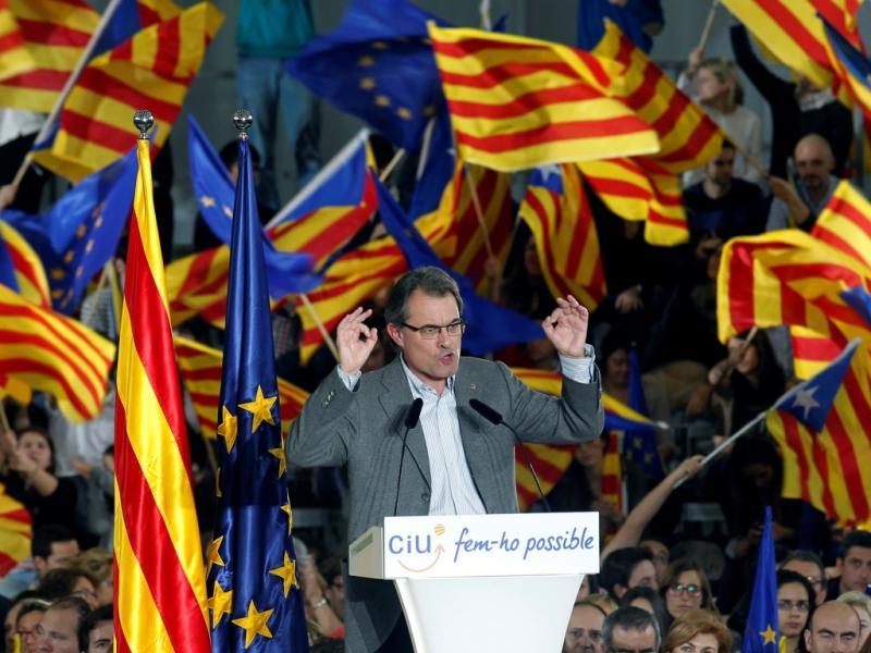 Artur Más, Presidente da Catalunha (Reuters)