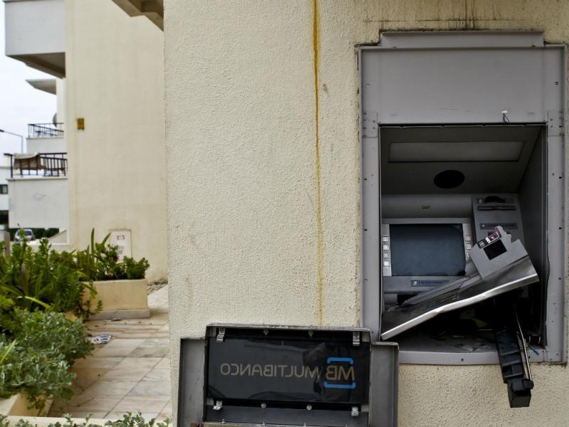Assalto a multibanco em Vila Franca de Xira (Lusa)