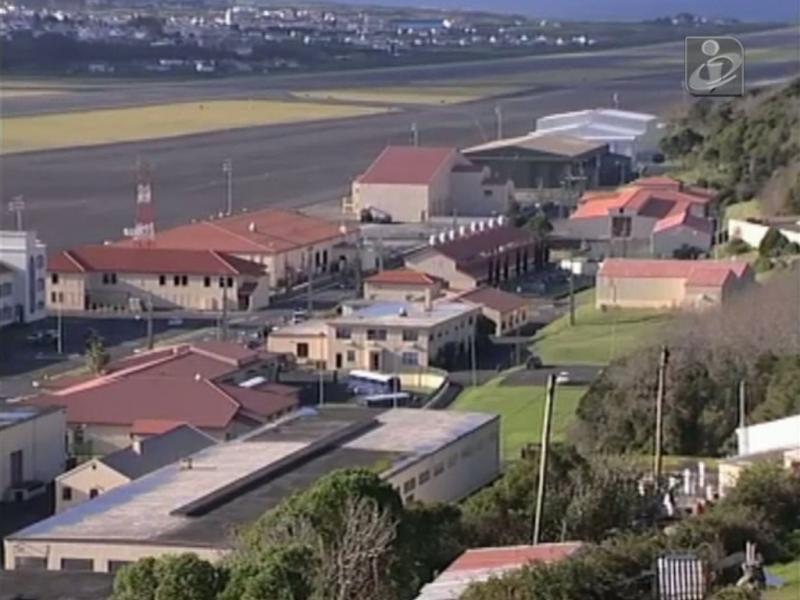 Base das Lajes na ilha Terceira, Açores