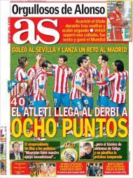 AS: o Atlético ganha antes do derby