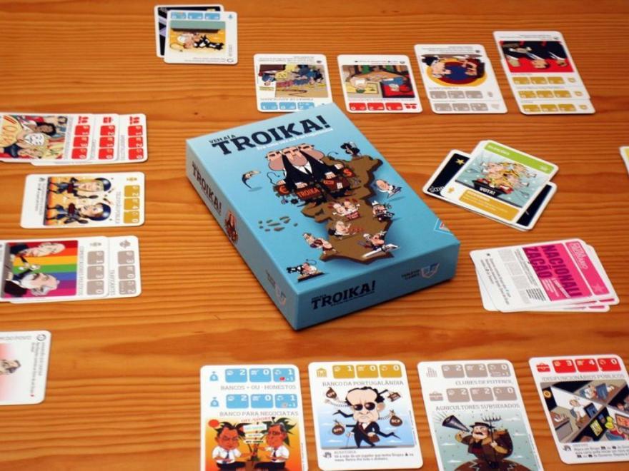 Vem aí a Troika, o jogo que leva o país à Falência