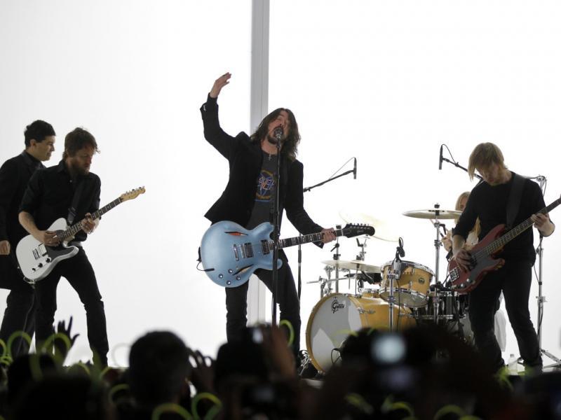 14. Foo Fighters - 35,9 milhões de euros (Reuters)
