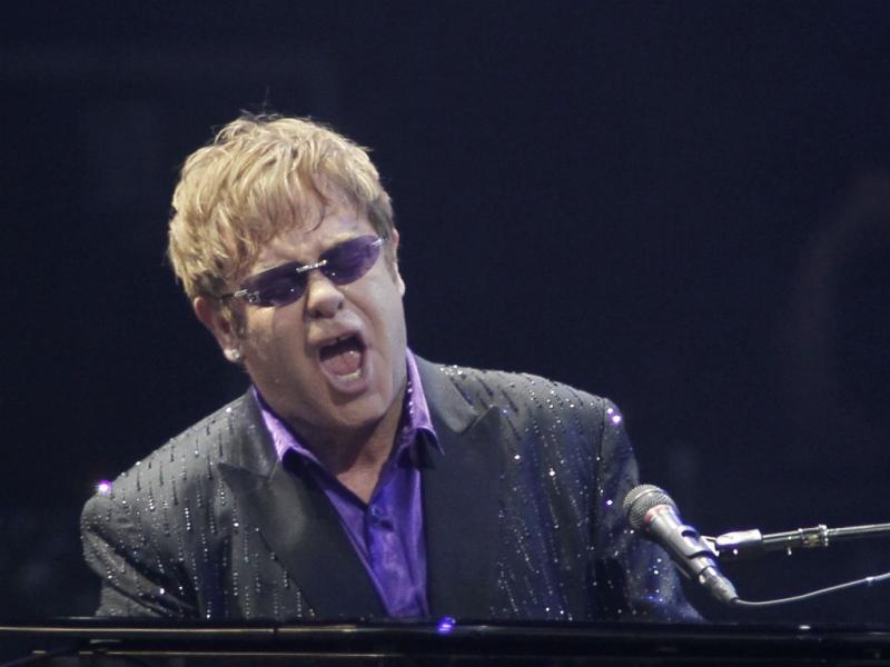3. Elton John - 61,2 milhões de euros (Reuters)
